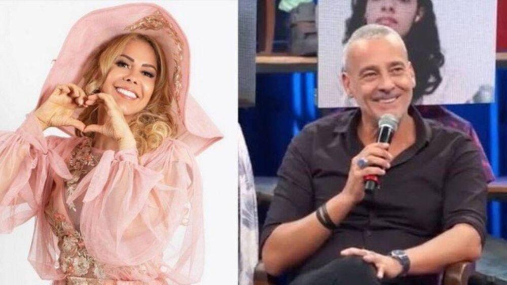 Joelma e Alexandre participaram de programa de TV onde tudo começou