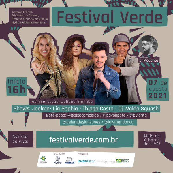 Imagem ilustrativa da notícia: 1° Festival Verde conecta música e sustentabilidade