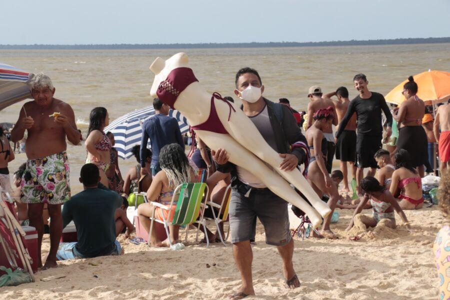 Imagem ilustrativa da notícia: Outeiro lota no 3º domingo de julho. Veja fotos