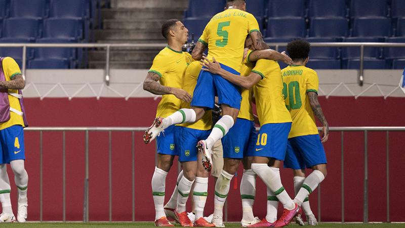 A seleção masculina de futebol vai enfrentar o México