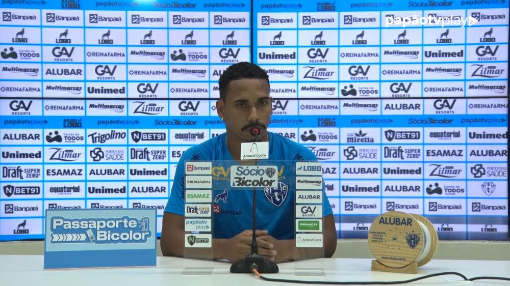 Lateral direito Marcelo está confirmado na equipe titular do Paysandu.