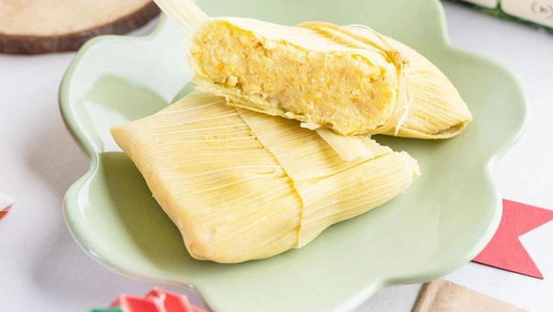 Chef  criou pamonha leve e mais natural possível