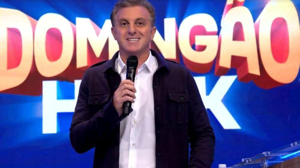 """Luciano Huck no  """"Domingão"""""""