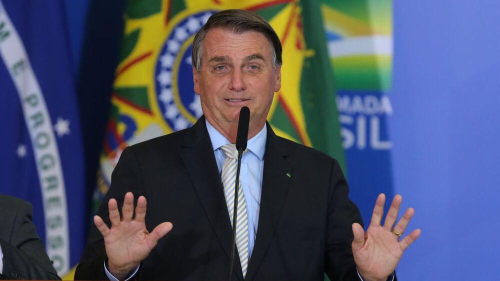 Blasio, prefeito de Nova York, marcou Bolsonaro em um tuíte junto com um link que leva para o site que rastreia todos os pontos de vacinação contra a Covid-19 na Cidade.