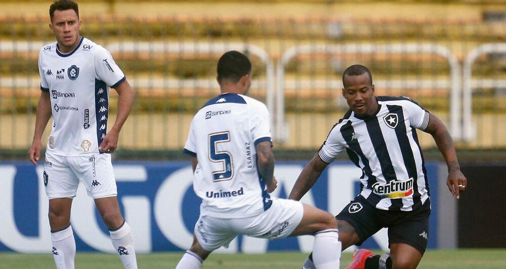 Botafogo venceu o Remo no Rio de Janeiro