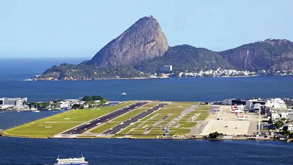 O aeroporto de Salinas terá quase 300 metros a mais do que o belo aeroporto Santos Dumont, no Rio de Janeiro.