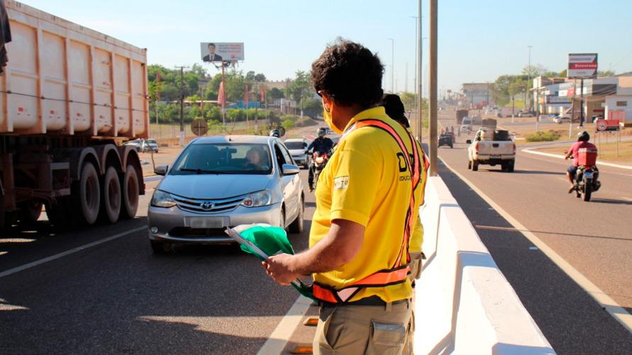 Ao longo da semana ocorrerão blitz educativa e palestra a condutores.