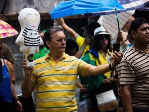 Belém teve manifestação na manhã desse domingo