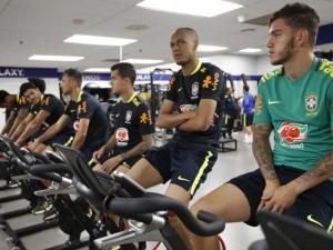 Brasil treina com foco na Copa América