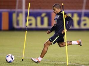 Veja imagens do treino da seleção brasileira