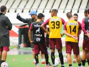 Paysandu treina no Mangueirão, palco do próximo jogo da Série B