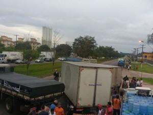 Protesto deixa BR-316 parada no início do carnaval
