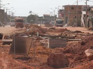 Zenaldo abandona obras da Estrada Nova
