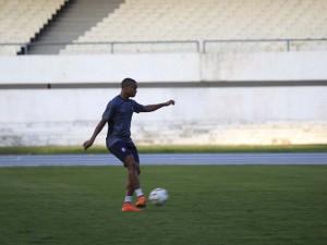 Remo treina no Mangueirão, palco da próxima partida da Série C