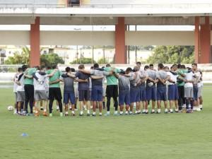 Clube do Remo faz último treino no Mangueirão antes de jogo contra o Sampaio