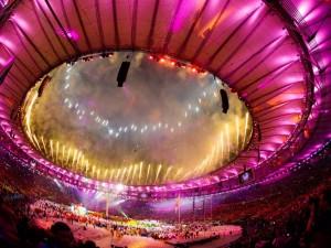 Cerimônia marca o fim dos Jogos Olímpicos