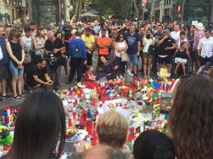 Imagens de Rambla após atentado que deixou 13 mortos