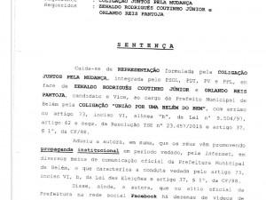 Veja documentos sobre cassação de Zenaldo