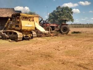 Veja fotos da destruição na fazenda Mutamba