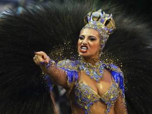 Musas esbanjam beleza no Carnaval de São Paulo