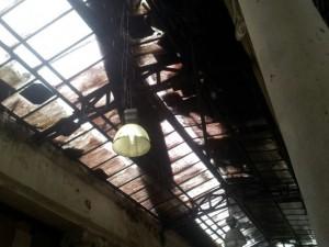Teto do Mercado de São Brás desaba em Belém