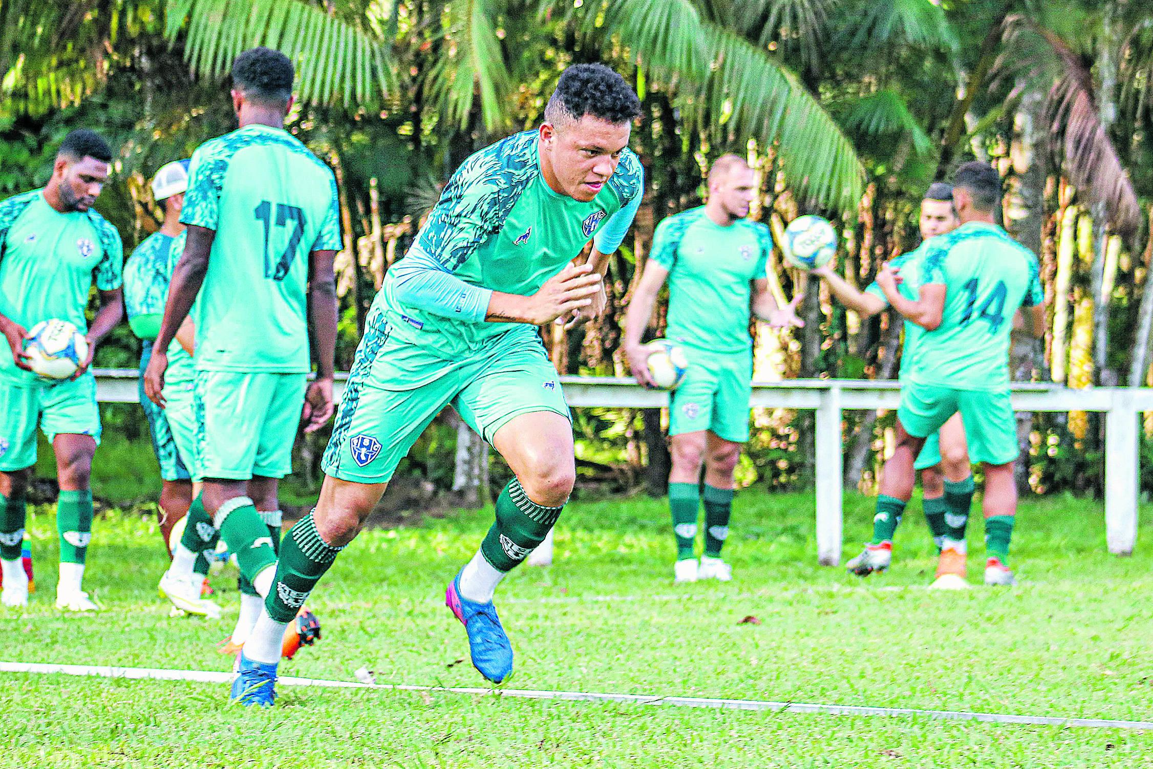 Perema está com moral com o técnico bicolor, que o comparou a Belterra, um dos grandes do futebol paraense