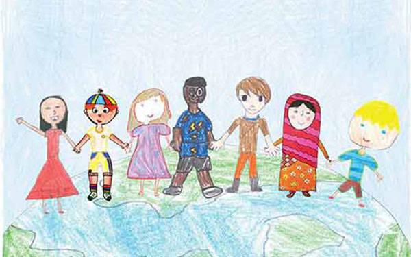 Crianças trabalharam coletivamente para a produção das animações.