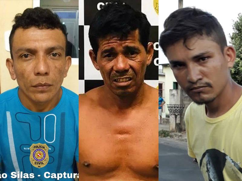 Trio recapturado após fuga da delegacia de Oriximiná
