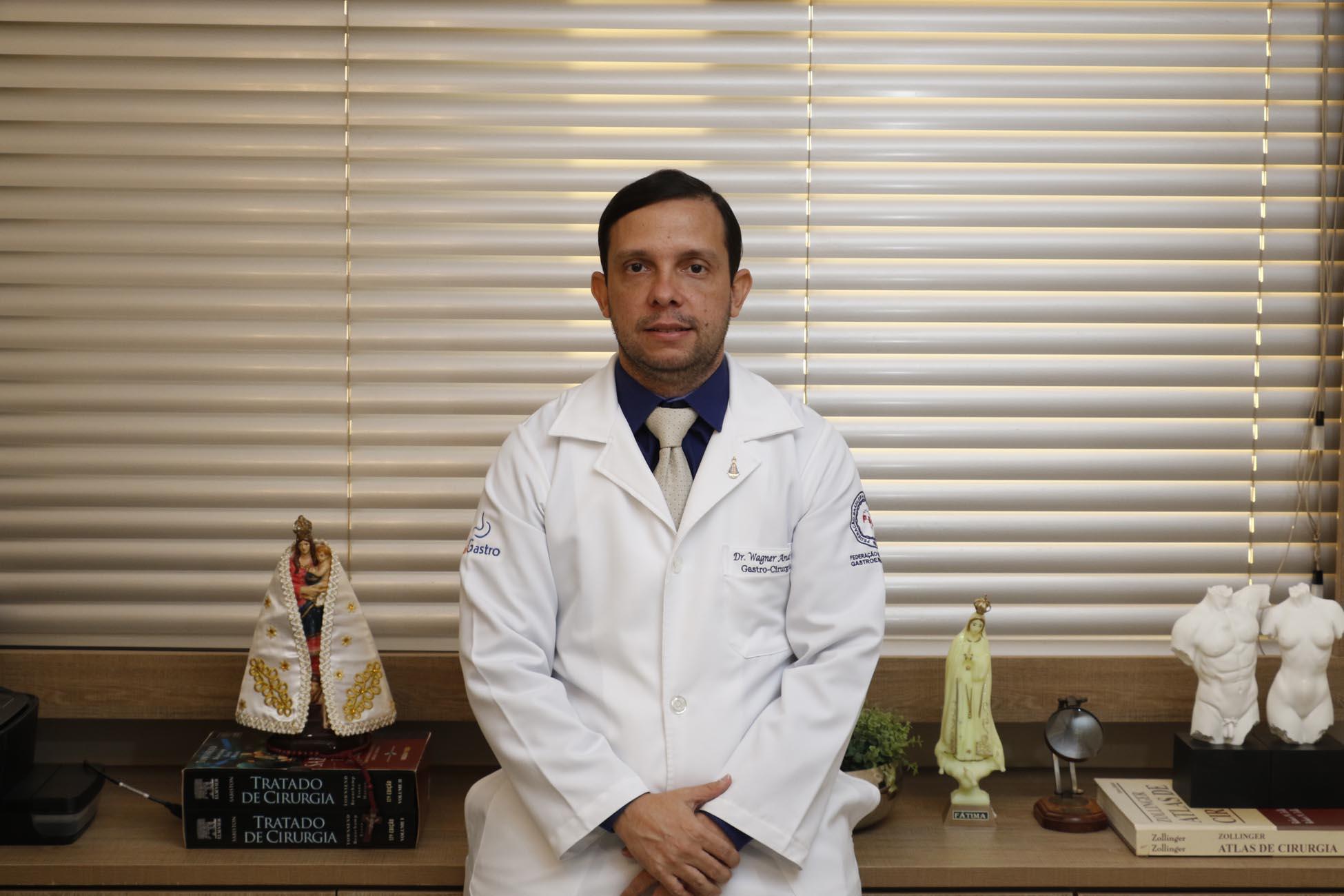 Belém, Pará, Brasil. Cidade. Entrevista sobre o Projeto Verão com o Dr. Wagner Andrade. 26-06-2020. Foto-Wagner Santana/Diário do Pará.