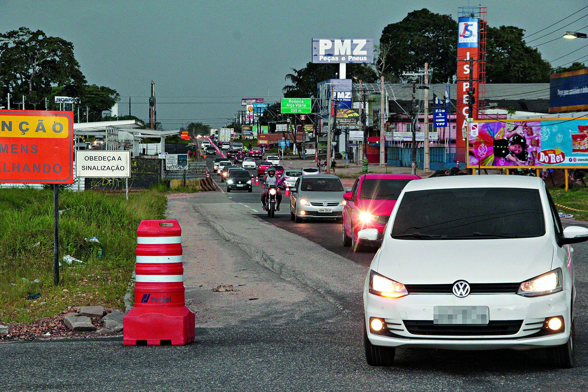 Retorno intenso, mas sem acidentes graves na rodovia