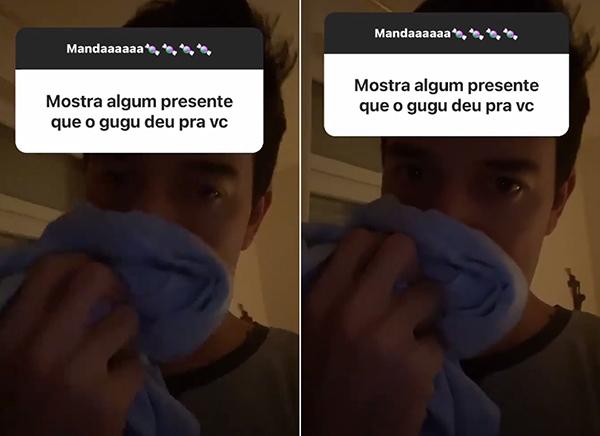 Thiago Salvático mostrou em seu Instagram o último presente que ganhou de Gugu.