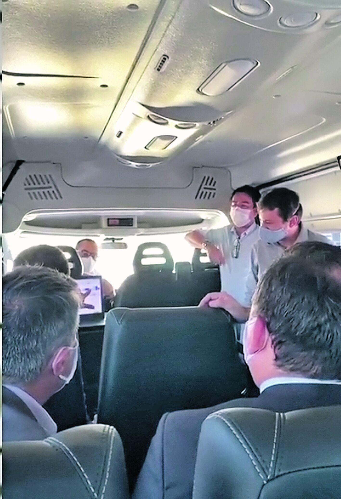 Foto registra o momento em que o equipamento foi apresentado a integrantes do MP-PA, antes da decisão judicial