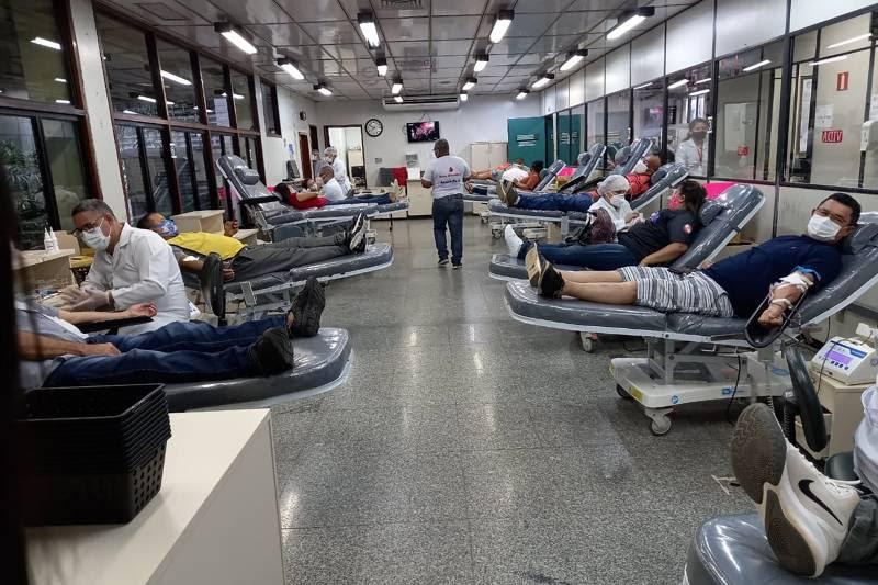 """Gerente de Captação de Doadores do Hemopa, Juciara Farias: """"A transfusão de sangue é constante, o Hemopa precisa de solidariedade"""""""