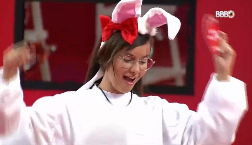 Thais foi a grande vencedora da prova e é o Anjo