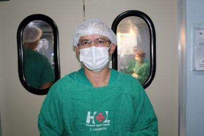 Francinaldo Gomes, neurocirurgião: intervenção durou cinco horas
