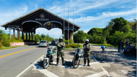 As ações aconteceram de forma integrada com os demais Órgãos de Segurança Pública do Estado nas rodovias estaduais e balneários.