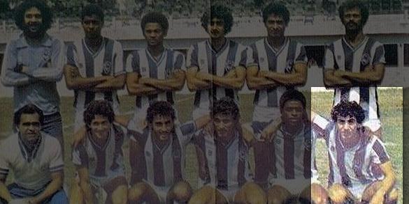 Em 1981, Marcio Fernandes foi campeão paraense jogando pelo Paysandu