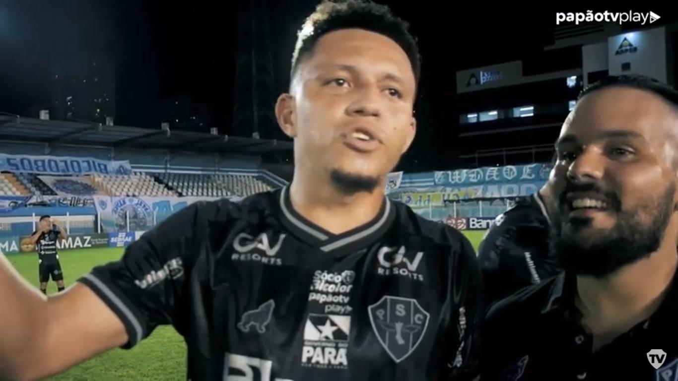Perema provocou a Tuna e pediu respeito à camisa do Paysandu.