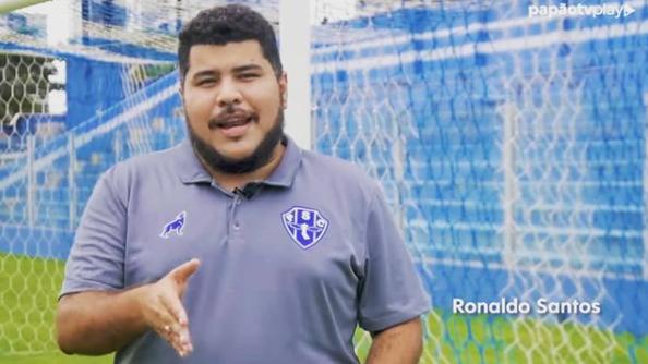 Ronaldo Santos é o coordenador da Papão TV Play.