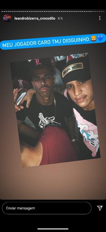 Após fotos divulgadas nas redes sociais, atacante Dioguinho apagou seu perfil no twitter e está fora da estreia do Remo na Série B.