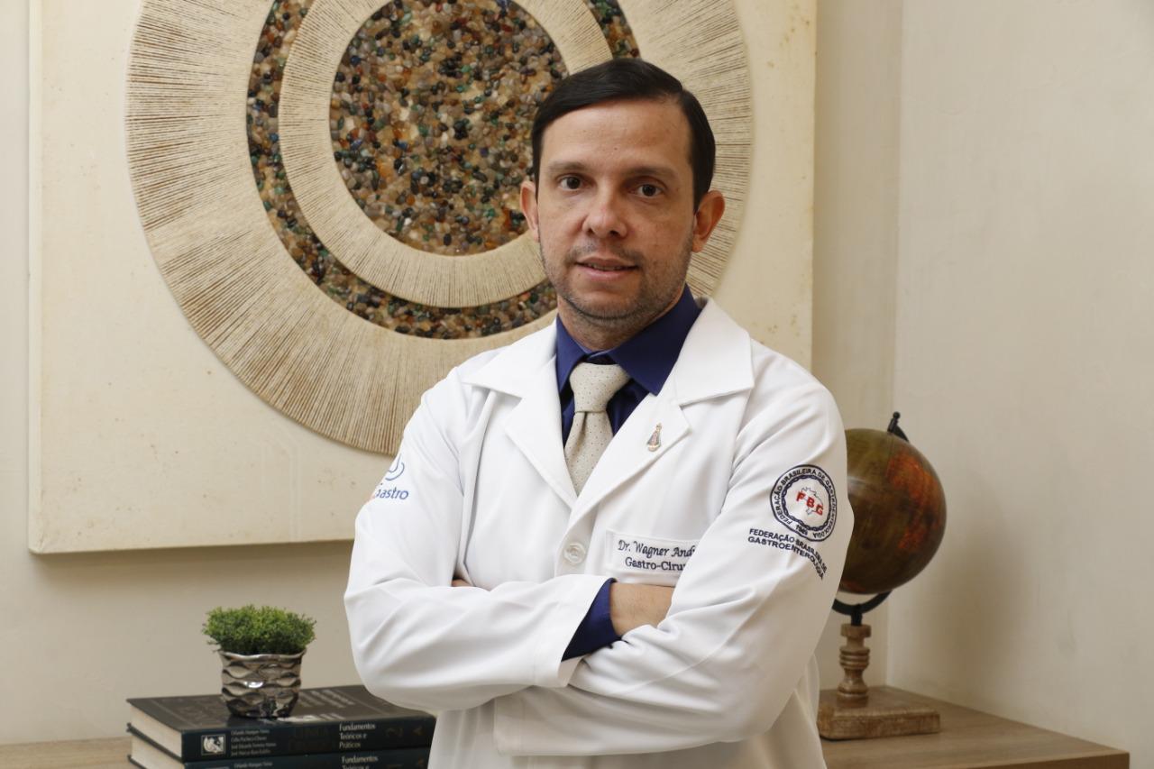 Gastro-cirurgião e nutrólogo, Doutor Wagner Andrade