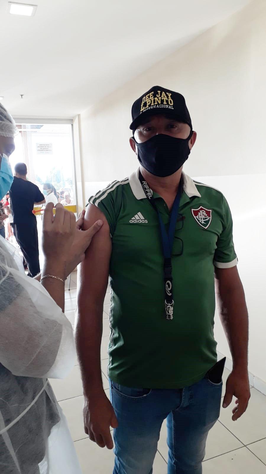 Neste domingo começaram a ser vacinadas as pessoas com 45 anos de idade para cima em Marabá