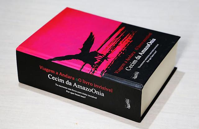 Viagem a Andara oO livro invisível, de Vicente Franz Cecim