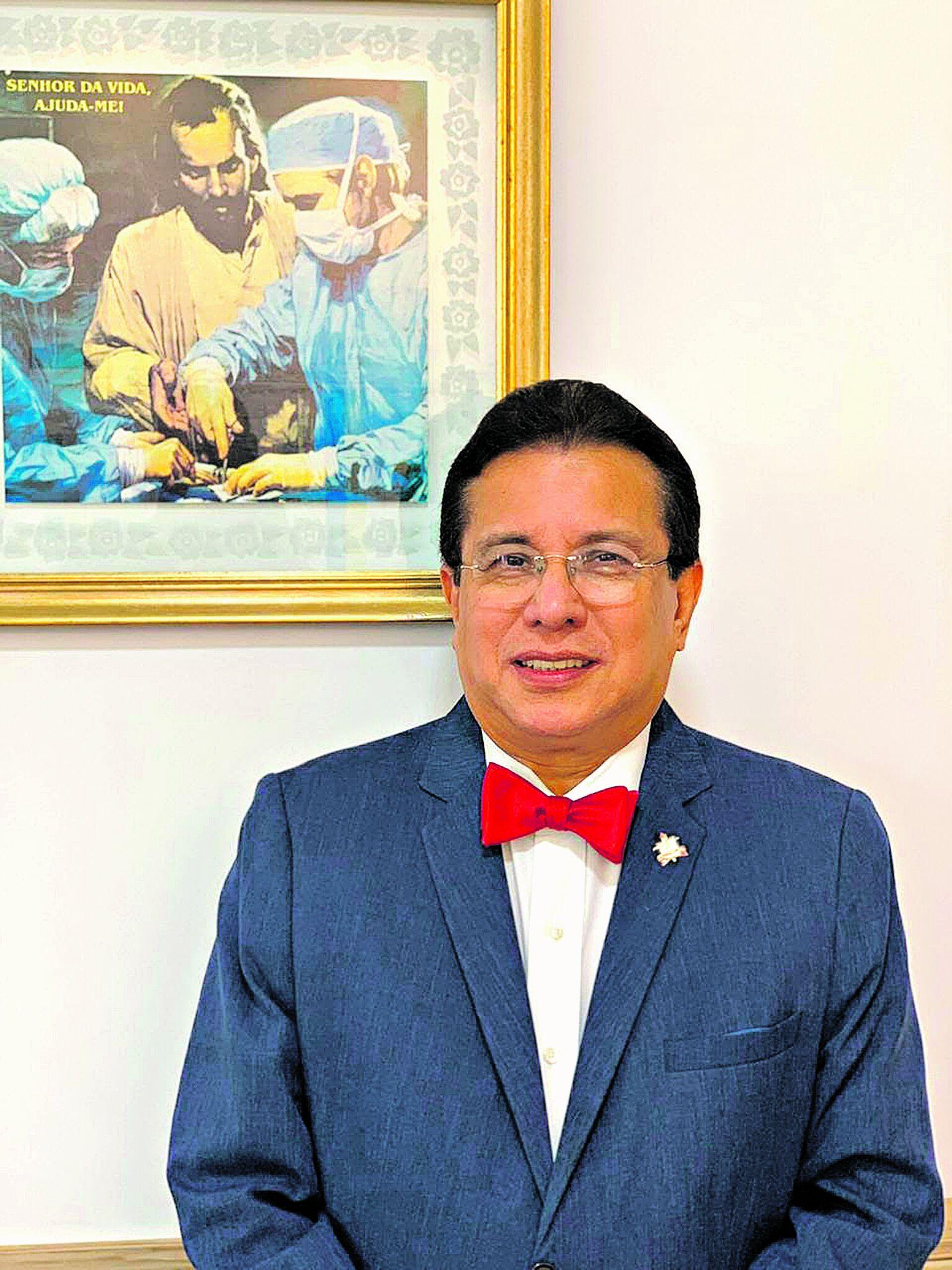 Eduardo Augusto da Silva Costa, coordenador da disciplina de cardiologia da Faculdade de Medicina da UFPA