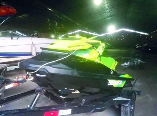 Veículo apreendido após o acidente
