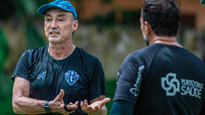 Roberto Fonseca terá seu segundo desafio no comando do Papão no próximo domingo, contra o Botafogo-PB