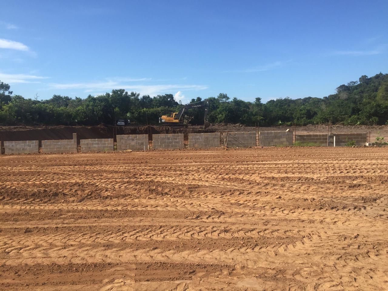 Ainda em fase de construção, futuro estádio do Tapajós deverá ter capacidade para 5 mil expectadores em Santarém.