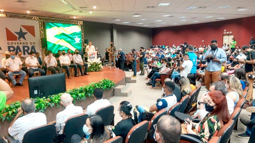 A assinatura aconteceu em evento no Carajás Centro de Convenções e contou com a presença de autoridades municipais e estaduais.