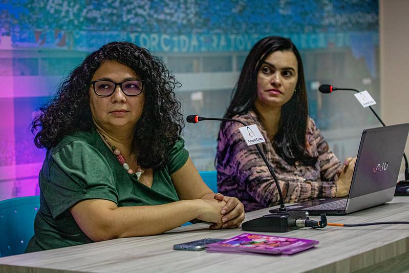 Daiane Lima e Mislene Lima participaram do evento