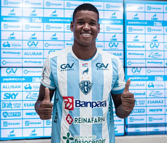 Alan foi foi apresentado oficialmente pelo Paysandu nesta quarta-feira (08).